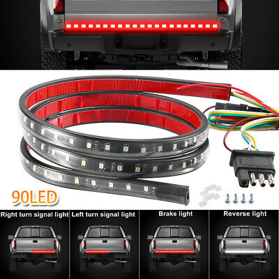 LED Rear Brake Signal Reverse Tailgate Light Strip Bar for Silverado 1500 Pickup