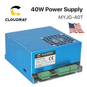 40W 50W PSU CO2 Laser Power Supply for Engraving Cutting Machine USA Stock