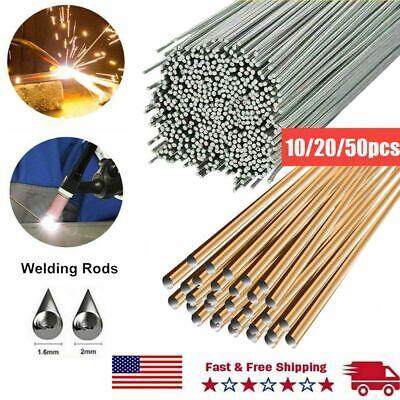 10-50x Aluminum Brass Solution Welding Flux-cored Rods Wire Brazing Rod 1.62mm