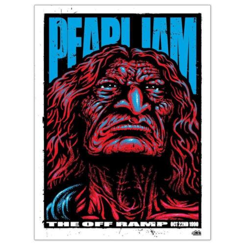 *** PEARL JAM OFF RAMP POSTER 10/22/1990 ART PRINT REGULAR EDITION ***