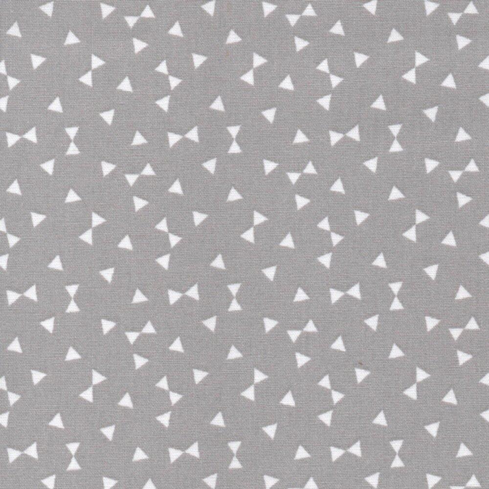 Paris Ton sur Ton-Petite Etoile Stars-Gris-Ex Large 100/% Coton Tissu