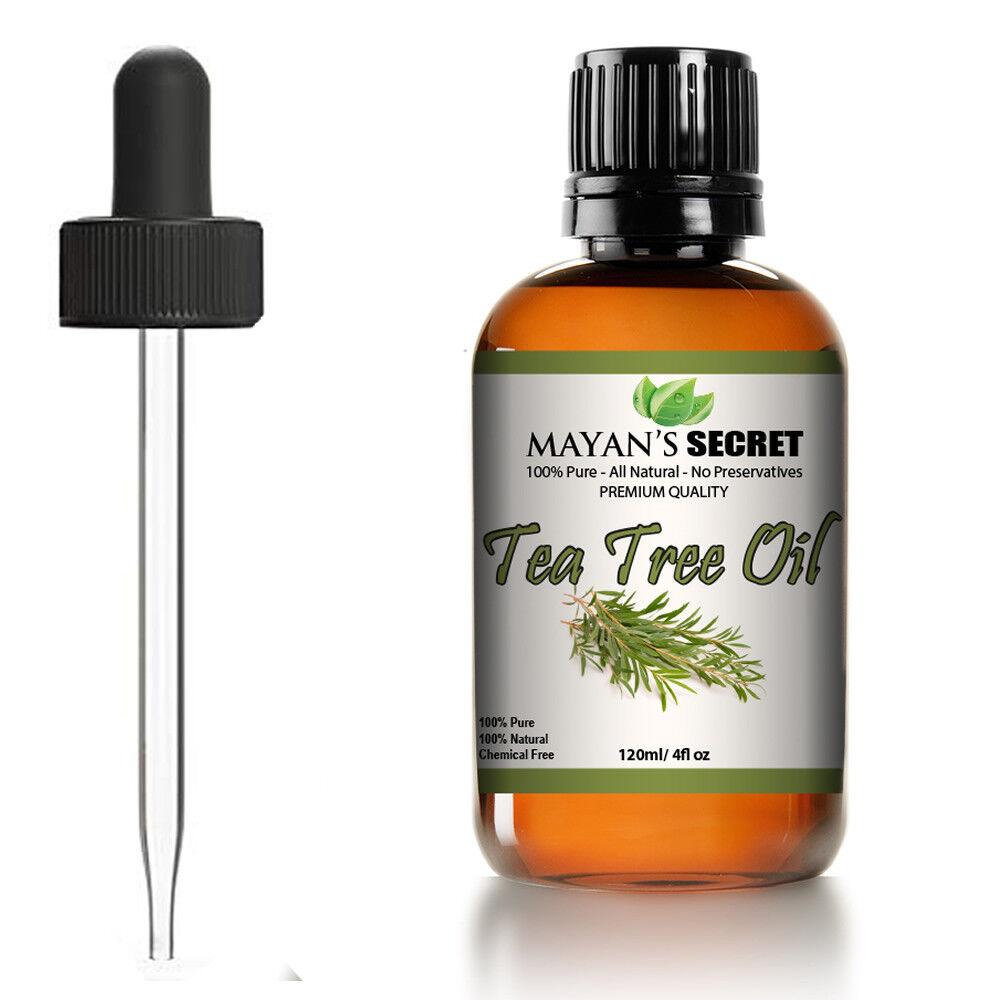 4 fl oz Tea Tree Essential Oil (100% Pure Virgin) – Glass Bottle Aromatherapy