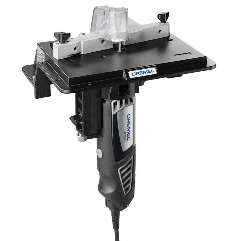 Rotary Tool Shaper/Router Table To Sand, Edge, Groove, And S