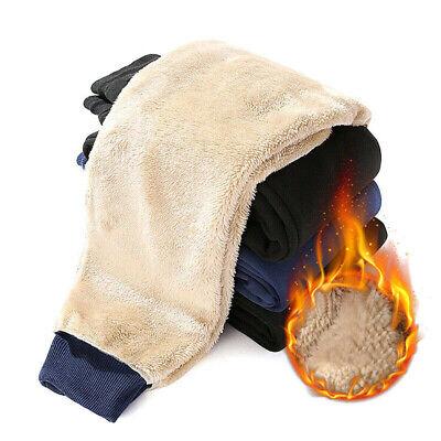 Mens Jogger Heavy Weight Fleece Sweatpants Sweat Pants Casual Loose Trousers