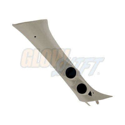 GlowShift Dual Gauge 52mm Pillar Pod with Speaker Hole for 07-13 Chevy Silverado