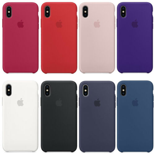 custodia iphone x silicone originale