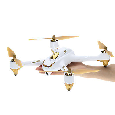 Hubsan H501S X4 Brushless FPV Quad Camera Drone with HD Camera, FPV, White New