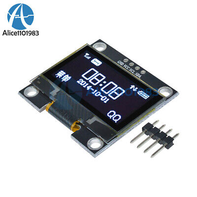 1.3 White Oled Lcd 4pin Display Module Iic I2c Interface 128x64 For Arduino