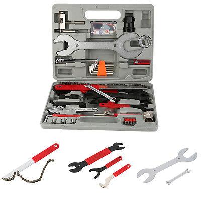 48tlg Fahrrad Werkzeug Werkzeugtasche Werkzeugkoffer Reparatur Set Multitool WE