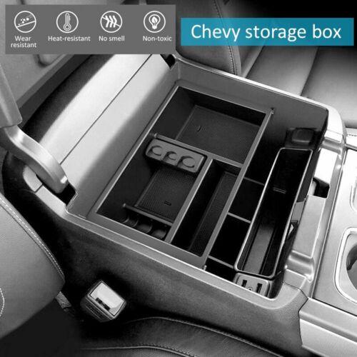 Car Center Console Armrest Organizer Tray Insert for Chevy Silverado,GMC Sierra
