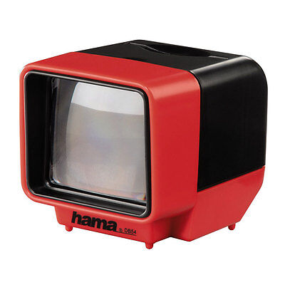 HAMA 1654 HAND HELD SLIDE VIEWER 3X MAGNIFICATION BATTERY POWERED DB54 5X5