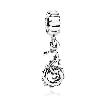 * Authentic Pandora Chinese Zodiac Dragon Pendant Charm 790991  Chinese Zodiac Charm