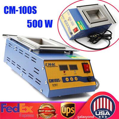 110v 500w Lead-free Solder Potsolder Machine Soldering Melting Tin Preheat Bath