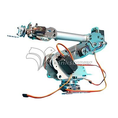 6dof Mechanical Robot Arm Claw With 996r 90s Servos For Robotics Arduino Diy Kit
