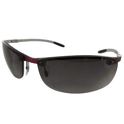 ca631958a6 Ray Ban Tech RB8305 Carbon Fibre Semi Rimless Polarized Sunglasses