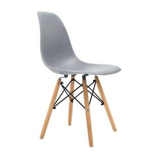 Artiss 4x Retro Replica Eames Dining Dsw Chairs Kitchen