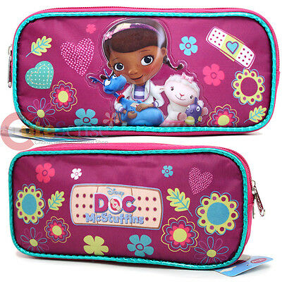 Disney Jr. Doc Mcstuffins Pencil Case Accessory Case Bag Disney Accessory Case