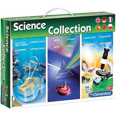Experimentierkasten Biologie, Optik, Salzkrebse Wissenschaftsset Science Collect