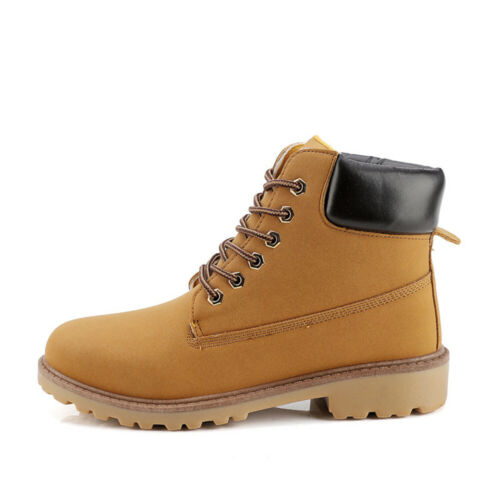 Men's Shoes Leather Outdoor Martin Boots