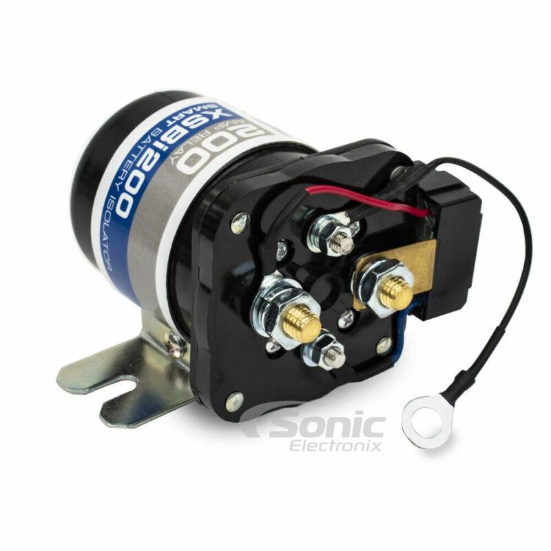 NVX [XSBI200] 12V 200 Amp Dual Battery Voltage Sensitive Smart Isolator Relay