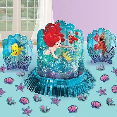 Disney Little Mermaid Ariel Birthday Party Centerpiece confetti Table Decor Kit
