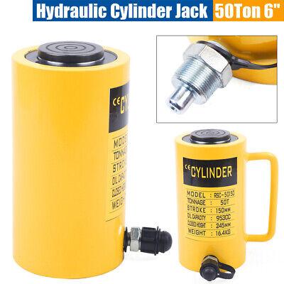 50t 6 Stroke Single-acting Hydraulic Cylinder Jack -telescopic Plunger Cylinder