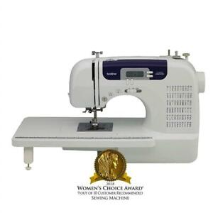 NEW Brother CS6000i Feature-Rich Sewing Machine With 60 Built-In Stitches, 7 styles of 1-Step Auto-Size Buttonholes, ...