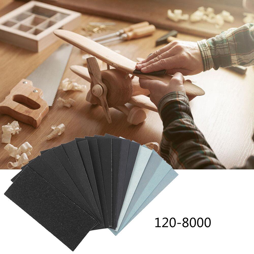 Details About Wet Dry Sandpaper Abrasive Sand Paper Sheet Car Paint Polish Tool 150 8000 Grit