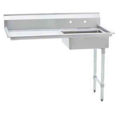 Stainless Steel Commercial Undercounter Dish Table Right Side  30 X 52 G