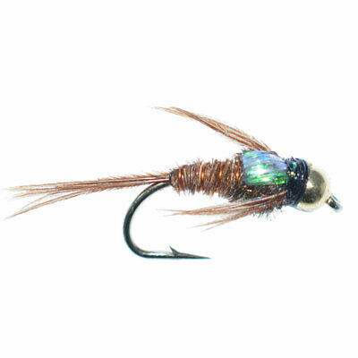 SIZES AVAILABLE NYMPHS 1 DZ A-2 BEAD HEAD ANATOMIC PHEASANT TAIL