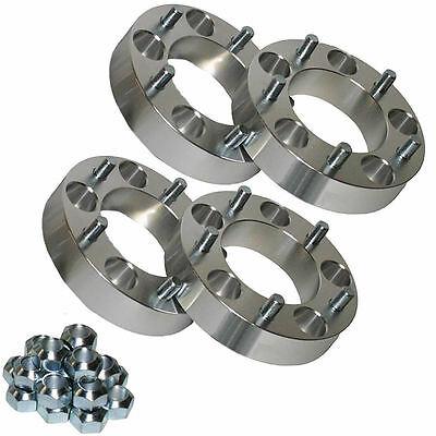 4x Land Rover 30mm Aluminium Wheel Spacers Wide Discovery Defender Range Rover