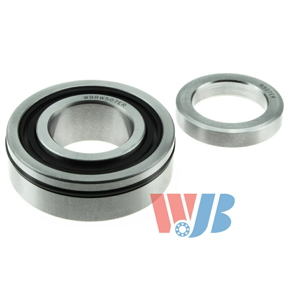 Pair of 2 New Rear Wheel Bearing with Lock Collar WJB WBRW307R Interchange RW-30