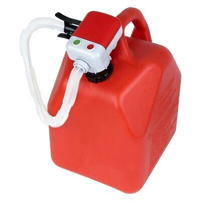 Terapump 3 Gpm Battery Operated Fuel Transfer Pump W Flexible Intake Hose