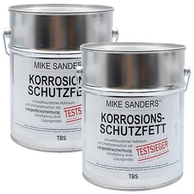 """Mike Sanders Korrosionsschutzfett 1,5 kg (2x750g) """"weiche Mischung"""" Rostschutz"""