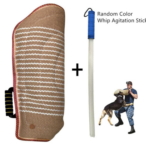 Professional Dog Bite Training Set Dog Bite Arm Sleeve with Whip