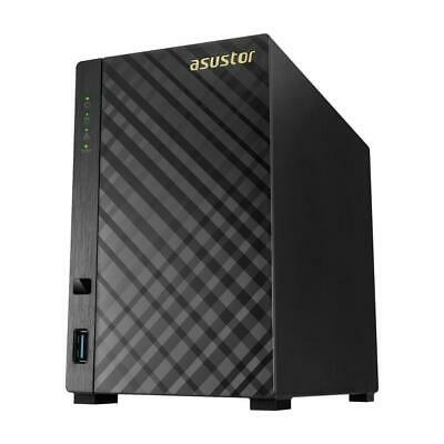Asustor AS3102T v2 2-Bay NAS (Network-Attached Storage) Enclosure
