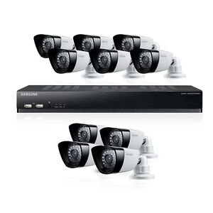 $489.99 - Samsung SDS-P5101 16-CH 1TB DVR Home Security System w/ 10 Night Vision Cameras