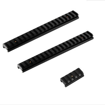 Worker Mod Picatinny Rail Mount Slot Weaver Kits Black for Nerf Rampage Toy (Nerf Rampage Mod Kit)