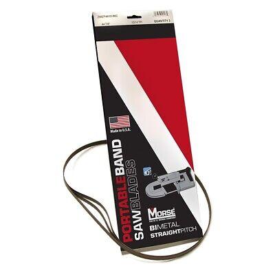 M.k. Morse Zwep4414w 44-78 X 12 X .020 14 Tpi Wavy Set Bi-metal Portable Ba