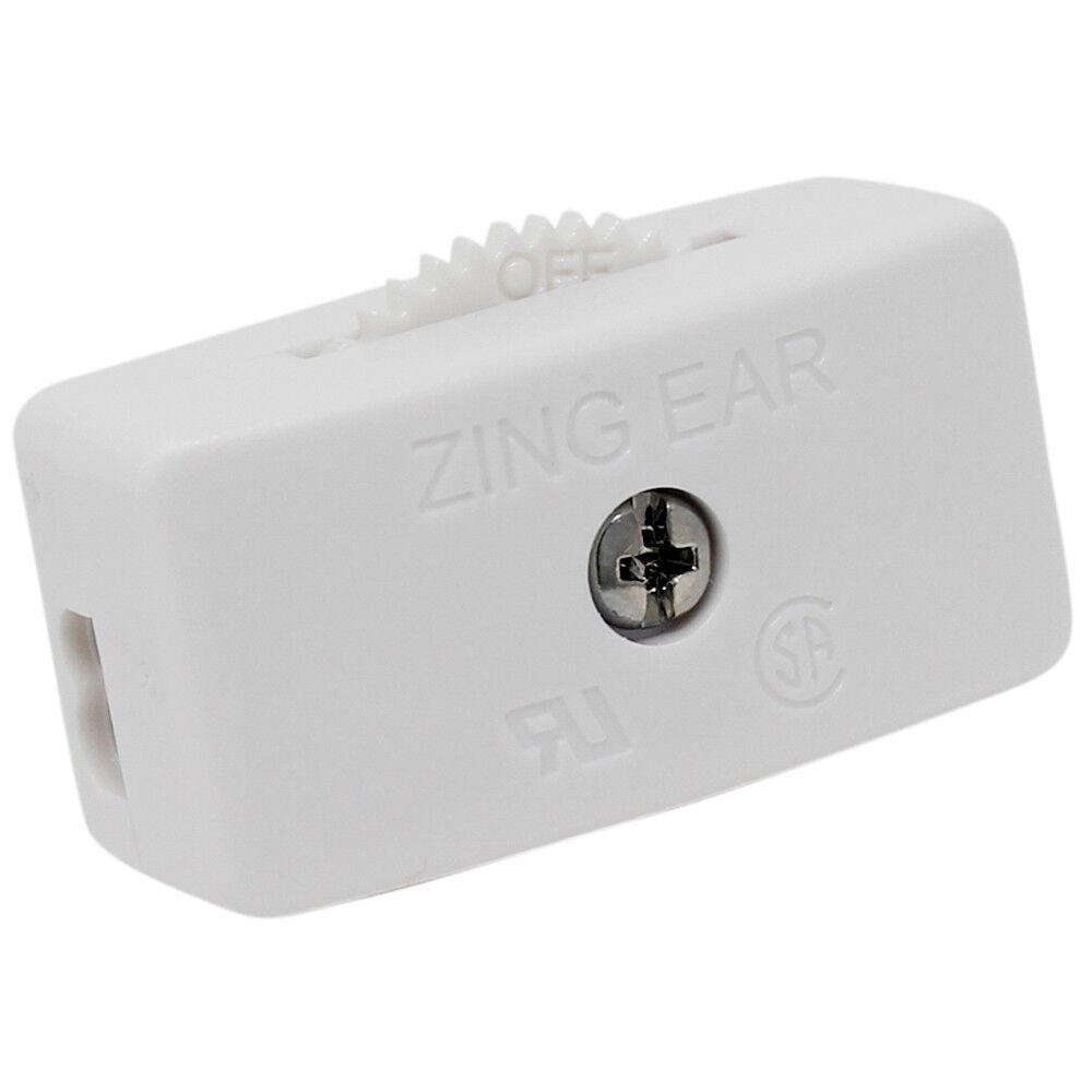 3x Zing Ear Ks 30 Feed Thru Cord Inline Switch Spt 2 Lamp