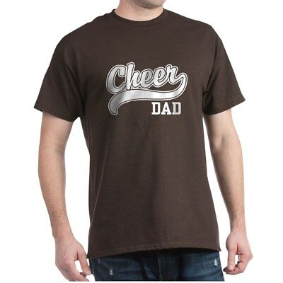 CafePress Cheer Dad Dark T Shirt 100% Cotton T-Shirt (179904738)