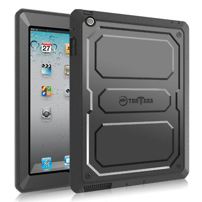 Shockproof Full Protective Rugged Hybrid Hard Back Case Cover For iPad 2 3 4