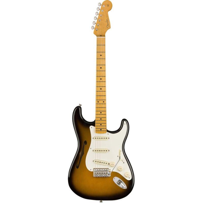 Fender Eric Johnson Stratocaster Thinline Maple 2-color Sunburst Electric Guitar