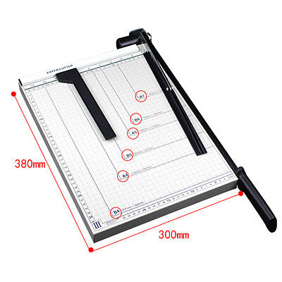 Pro Office B4 Trimmer Paper Cutter 15 Guillotine Blade Metal Base Scrap Booking