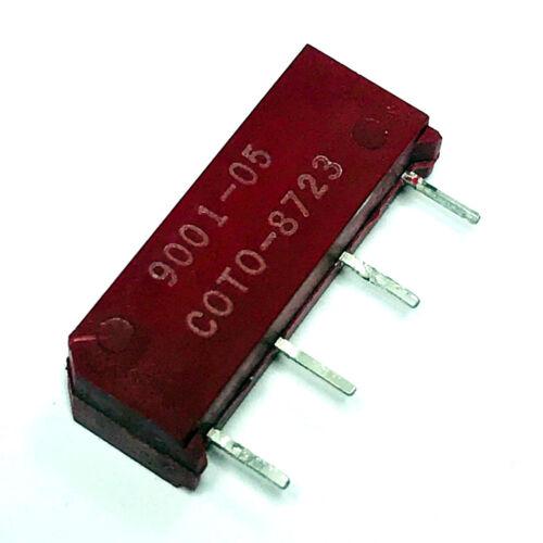 5PCS 9001-05-01 MFR Coto Reed Relays SPST 0.5A 5V Thru-Hole