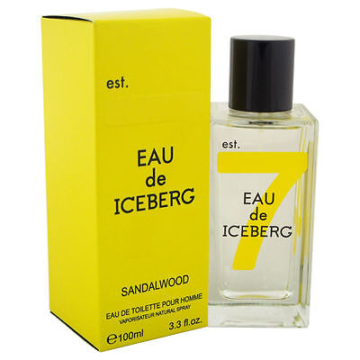 Eau de Iceberg Sandalwood Men Iceberg Eau de Toilette Spray 3.3 oz - New in Box