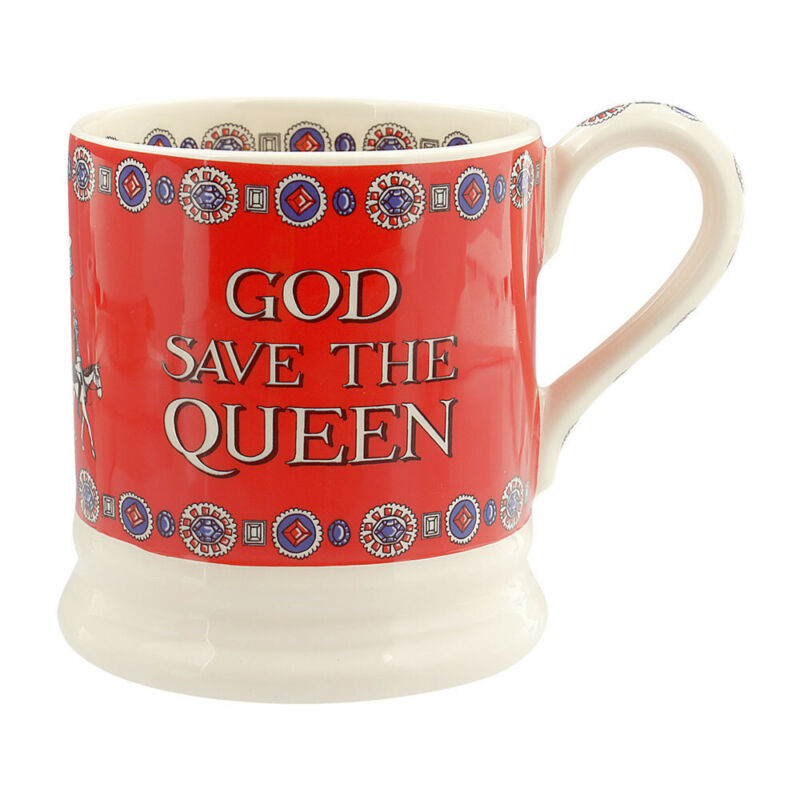 Emma Bridgewater God Save the Queen 1/2 Pint Mug