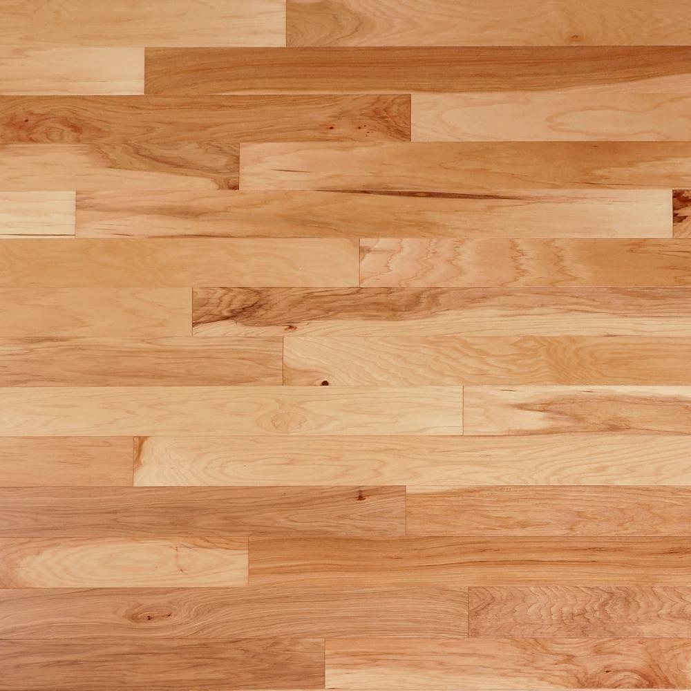 "Hickory Natural 3/4"" x 2 1/4"" Solid Hardwood Flooring $2.99/"