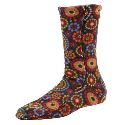 Acorn Versa Fleece Socks Mens Womens All Sizes Chocolate Dots