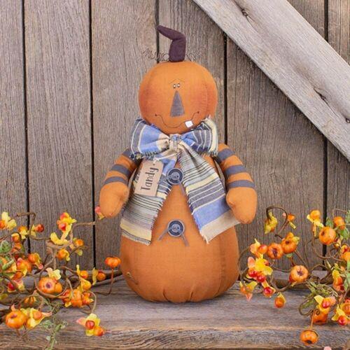 Tandy Jack O Lantern Pumpkin Doll Country Farmhouse Autumn Fall Halloween Decor